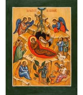 """Grand Format """"Icône «nativité"""" (Ateliers du Roseau) (GF14-0027_R1.32)"""
