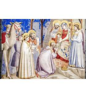 Grand Format «Adoration des rois Mages» Giotto