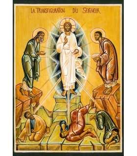 Grand Format icone transfiguration (Ateliers du Roseau)