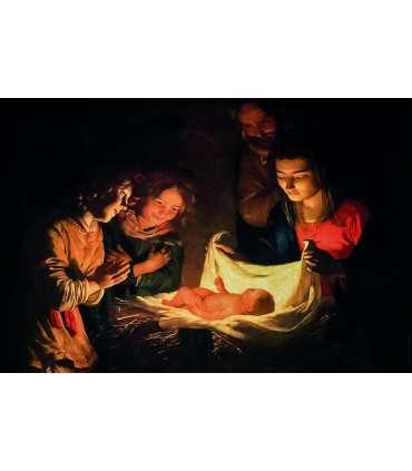 Grand Format Nativité Gerrit van Honthorst (GF14-0046_R1.50)
