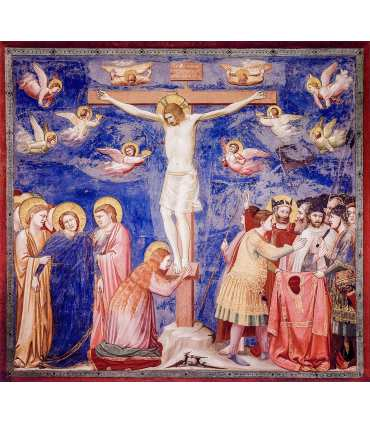 Grand Format Crucifixion de Giotto