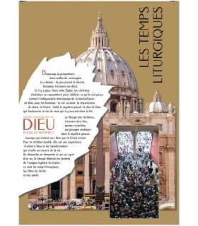 Les temps Liturgiques (Série de 8 affiches) (EX13-0038)
