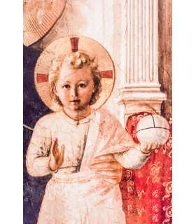 Grand Format «Jesus enfant fra angelico «