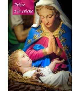 "Carte Prière ""Prière à la crèche"" (CA14-0001)"