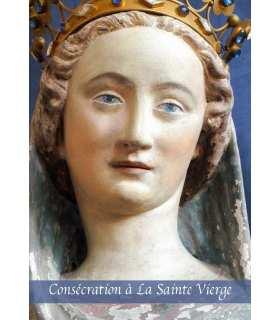 """Carte Prière """"Consécration à la Vierge Marie"""" (CA14-0002)"""