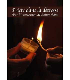 """Carte Prière """"Prière dans la détresse"""" (CA14-0008)"""