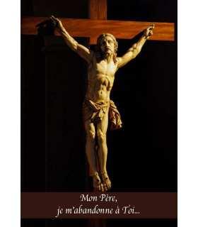 """Carte Prière """"Mon Père, je m'abandonne à toi"""" (CA14-0009)"""