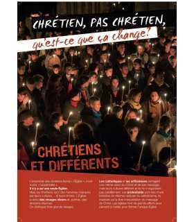 Chrétien, pas chrétien, qu'est-ce que ça change ? (Série de 10 affiches) (EX13-0004)