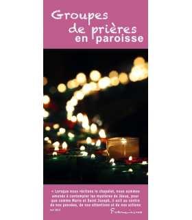 """Flyer personnalisable """" Groupes de prière """" (FP15-0018)"""