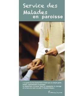"""Flyer personnalisable """" Service évangélique des Malades """""""