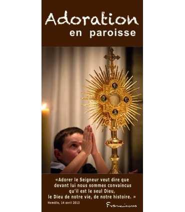 "Flyer personnalisable "" Adoration "" (FP15-0010)"