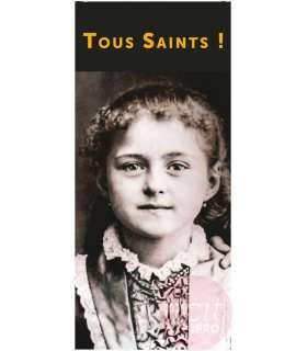 Kakémono Ste Thérèse enfant : Tous Saints!