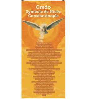 Kakémono liturgique : Credo Symbole de Nicé (KM14-0007)