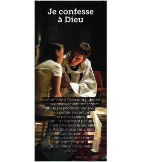 Kakémono liturgique : Je confesse a Dieu (KM14-0008)