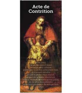 Kakémono liturgique : Contrition (KM14-0009)