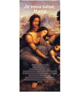 Kakémono liturgique : Je vous salue Marie