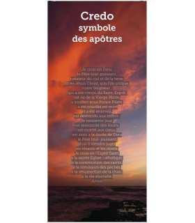 Kakémono liturgique : Credo Symbole des apôtres (KM14-0012)