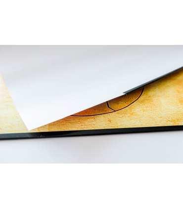 Système d'accrochage pour poster (par poster) en papier (70cm ou 100cm de large)