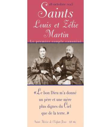 Saints Louis et Zélie Martin (KM15-0015)