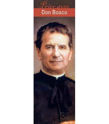 """Lot de 10 Signets """"Prier avec"""" Don Bosco"""