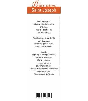 """Lot de 10 Signets """"Prier avec"""" Saint Joseph"""