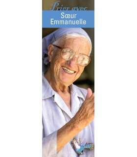 """Lot de 10 Signets """"Prier avec"""" Soeur Emmanuelle"""