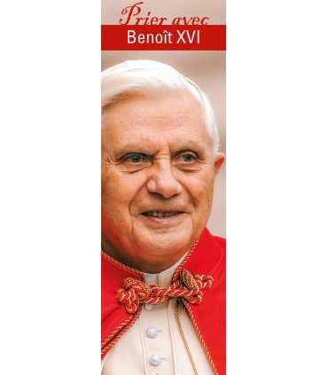 """Lot de 10 Signets """"Prier avec"""" Benoît XVI"""