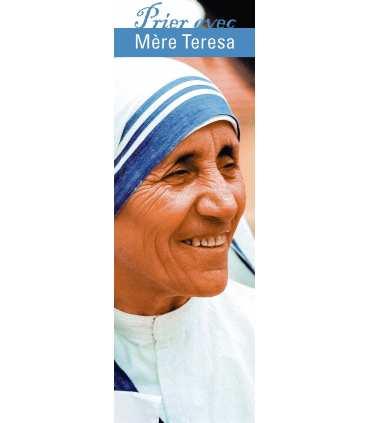"""Signet """"Prier avec"""" Mère Teresa (SAT0023)"""