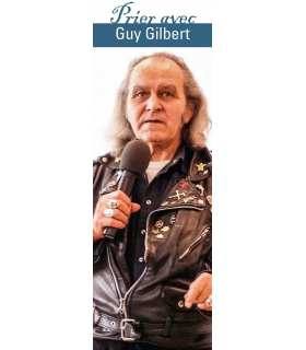 "Lot de 10 Signets ""Prier avec"" Guy Gilbert"