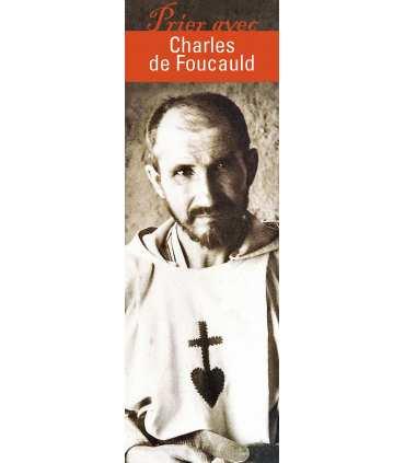 """Lot de 10 Signets """"Prier avec"""" Charles de Foucauld"""