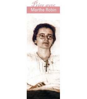 "Signet ""Prier avec"" Marthe Robin (SAT0027)"