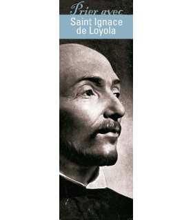"""Lot de 10 Signets """"Prier avec"""" Saint Ignace de Loyola"""