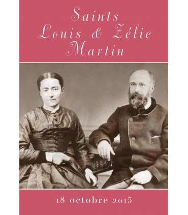 """Carte Prière """"Prière à Saints Louis et Zélie Martin"""" (CA15-0001)"""