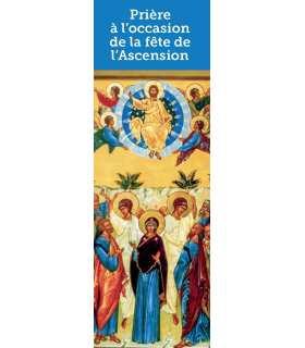 Signet Prière à l´occasion de la fête de l´Ascension