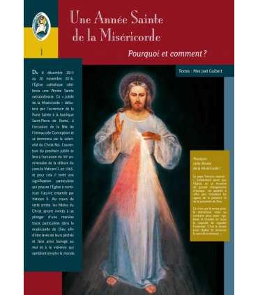 La Miséricorde Divine (Série de 14 affiches) pour l'année jubilaire (EX15-0007)