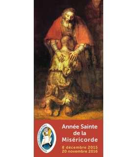 Kakémono Année Sainte de la Miséricorde - Jubilée (Rembrandt - fils prodigue)
