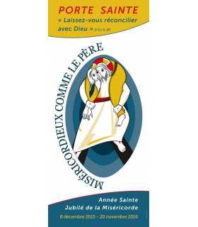 Kakémono Année Sainte de la Miséricorde - Jubilée (Logo officiel fournie par les diocèses)