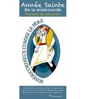 """Lot de Flyer personnalisable """" Année Sainte de la Miséricorde """""""
