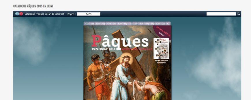 Sortie de notre nouveau site Internet pour la fête de Saint Joseph